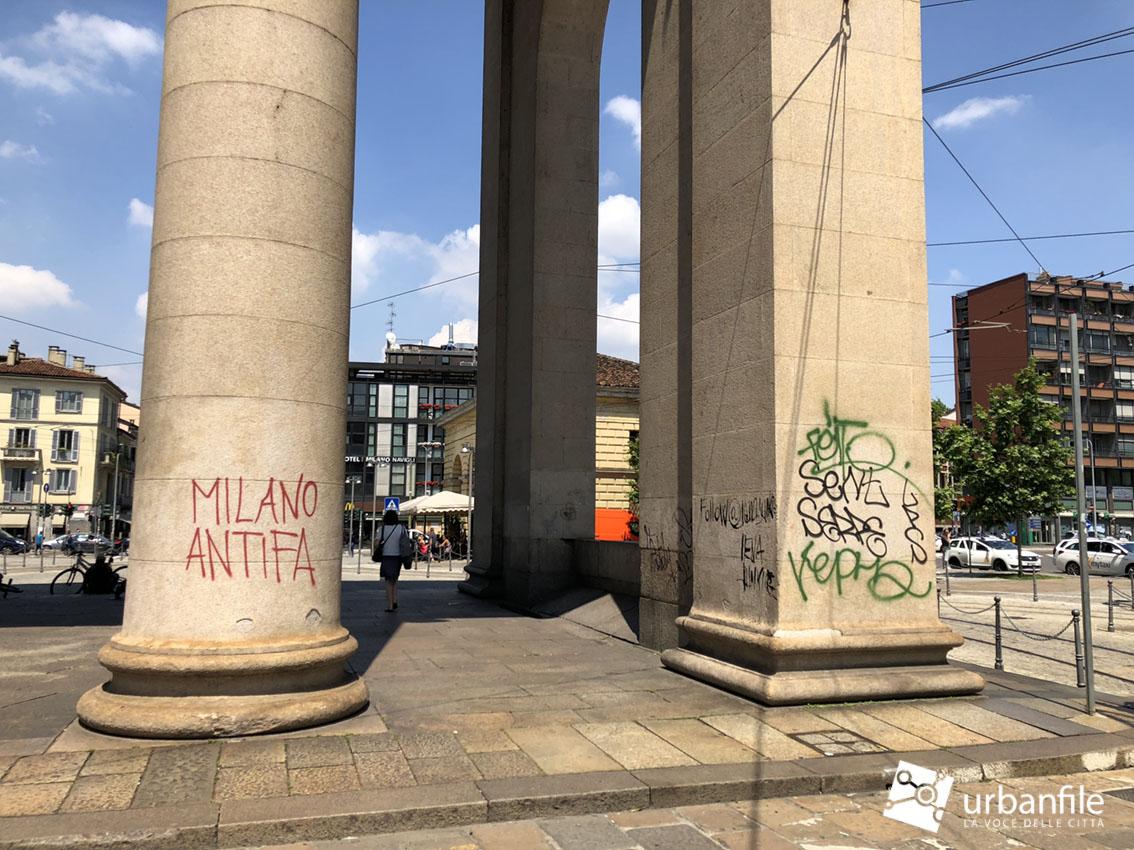 Arco Per Porta milano | porta ticinese - ma vogliamo porre fine a questo