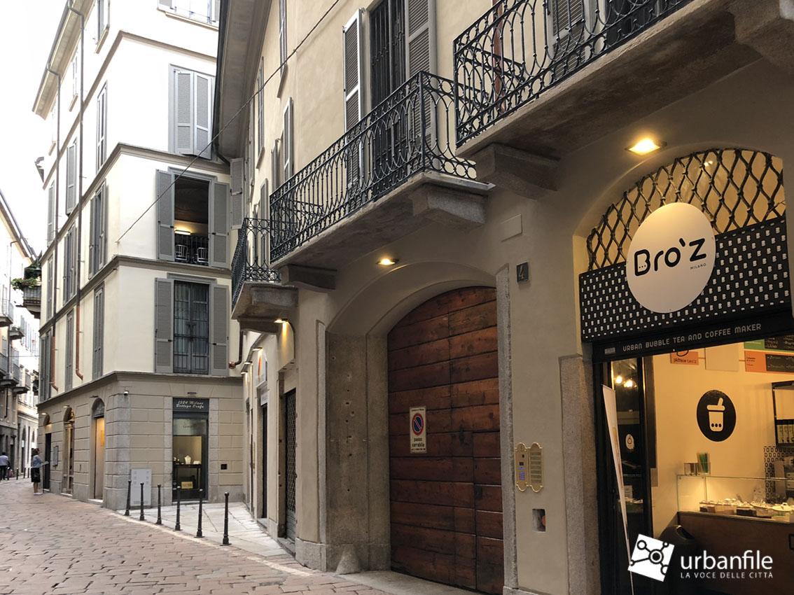 Via San Maurilio Milano milano | cinque vie - via s. maurilio 4, restaurata