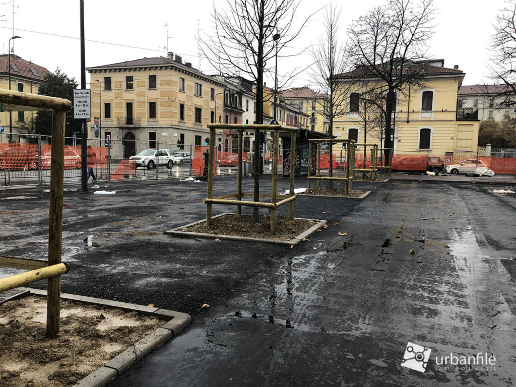 Milano Via Benedetto Marcello riqualificazione