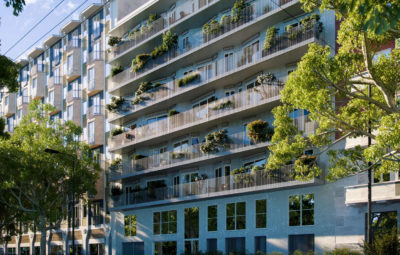 milano scalo farini nuove terrazze via valtellina facciata