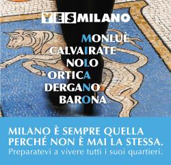 Yes Milano - le t-ahirt diUrbanfile Architetti per Milano