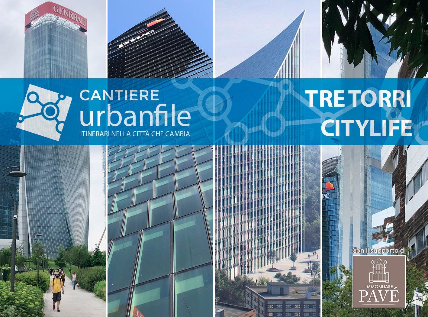 Milano | Cantiere Urbanfile a CityLife il 13 febbraio