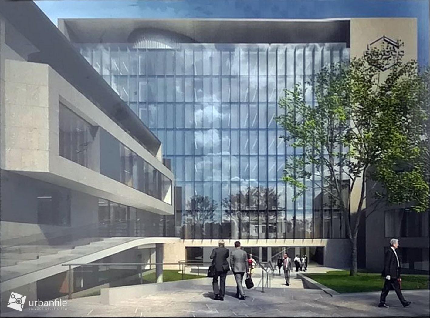 Milano - Lambrate - La nuova sede della Bracco - Urbanfile ...
